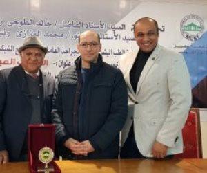 كلية الطب جامعة مصر تنظم ندوة الكشف المبكر لسرطان الثدى