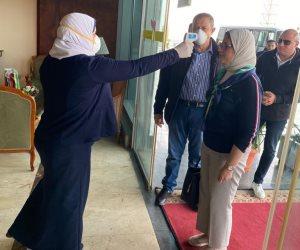 بعد عودتها من الصين.. وزيرة الصحة تخضع للمتابعة الصحية 14 يوما (صور)