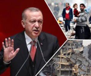 مكايدة سياسية وابتزاز للاتحاد الأوروبي.. أردوغان يُضحي باللاجئين على الحدود التركية اليونانية