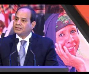 الرئاسة تنشر فيديو يشيد بعطاء المرأة المصرية.. «عظيمات مصر»