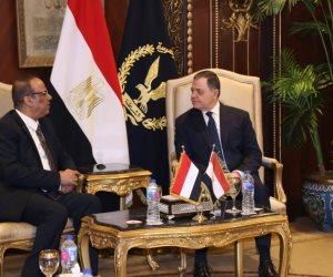 وزير الداخلية يستقبل نظبرة اليمني لبحث التعاون الأمني بين البلدين