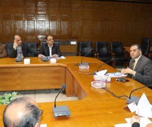 «الغندور» يوجه بسرعة الانتهاء من مشروعات الخطة الاستثمارية بشمال سيناء (صور)