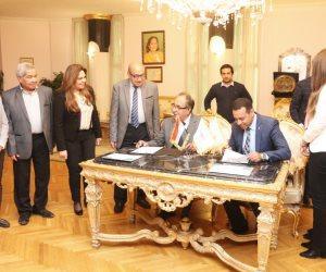 جامعة مصر توقع بروتوكول تعاون في البرمجيات لتأهيل الطلاب لسوق العمل