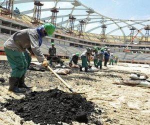 قطر الراعي الأول للموت.. وفاة 6500 عامل في بناء مشروعات كأس العالم