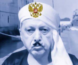 «الريس حنفى التركى».. أردوغان أوسكار «لف وارجع تانى» فى ليبيا وسوريا