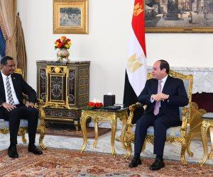 الرئيس السيسي يؤكد دعمه للسودان خاصةً خلال المرحلة الانتقالية الحساسة الراهنة