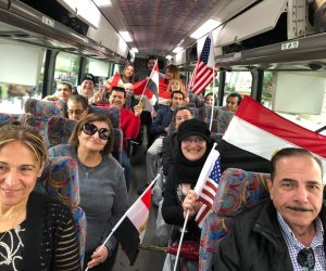 الجالية المصرية بالولايات المتحدة تتوجه إلى البيت الأبيض لتنظيم الوقفة التضامنية مع حقوق مصر المائية