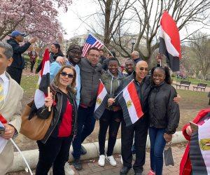 كينيون يتضامنون مع وقفة المصريين أمام البيت الأبيض للمطالبة بالحفاظ على حقوق مصر المائية