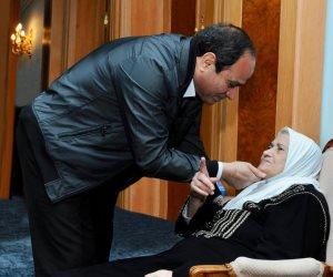 الرئيس السيسي عن والدته في عيد الأم: كانت رمزاً للحكمة والصبر والإيمان