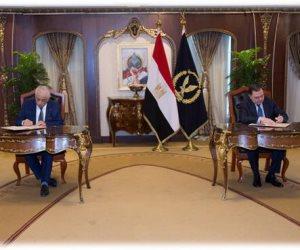 بروتوكول بين وزارة الداخلية والتعليم لإطلاق بنك المعرفة المصري