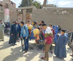 في المنيا.. مبادرات شبابية بالجهود الذاتية لتطهير وتعقيم المساجد والكنائس