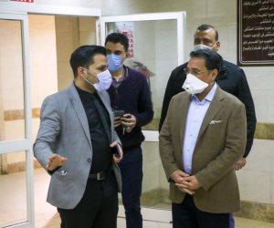 عبد الرحيم علي يتبرع بـ50 ألف جنيه لصالح مستشفى العجوزة ويؤكد: جيش مصر الأبيض سينتصر على كورونا