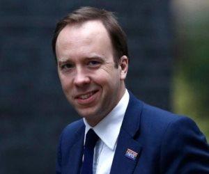 وزير الصحة البريطانى يعلن إصابته بكورونا ويعزل نفسه فى المنزل