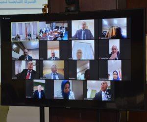عبر الفيديو كونفرانس.. وزير الإسكان يعتمد قوائم الشركة القابضة للمياه