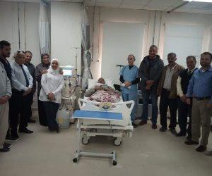 بدء تشغيل وحدة الغسيل الكلوي في مستشفى نخل المركزي بوسط سيناء (صور)