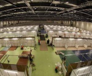 بطاقة 4000 سرير.. بريطانيا تقترب من إنهاء مستشفى للطوارئ لمواجهة كورونا (صور)