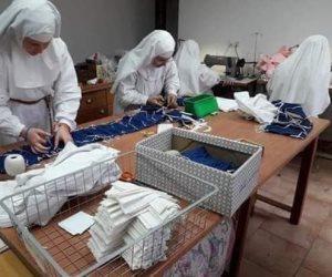 """يكشفها متحدث الكنيسة الأرثوذكسية.. حقيقة صنع راهبات لـ""""كمامات كورونا"""""""