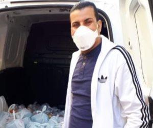 سفراء الشهامة بالخارج.. محمد المصري يكشف لصوت الأمة سبب تغني الصحف الإيطالية به (صور)