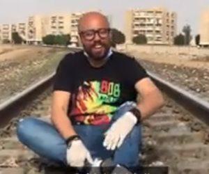 """"""" نضف"""" .. أغنية جديدة للفنان حسن بلبل لتوعية المصريين ضد فيروس كورونا"""