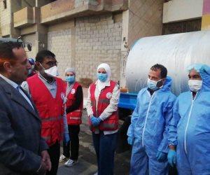 محافظ شمال سيناء يقود مبادرة رسمية لتطهير وتعقيم شوارع العريش لمواجهة كورونا (صور)