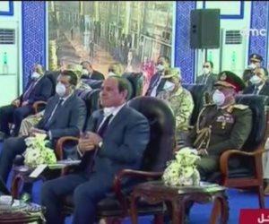 """الرئيس يحذر مستغلى أزمة كورونا: """"محدش يتصور إن البناء المخالف هنسيبه"""""""