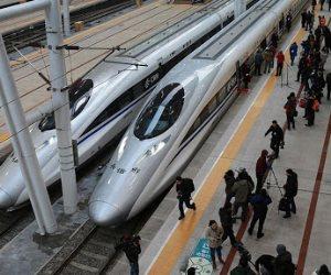 ووهان الصينية تستعد لانطلاق 80 قطار طلقة اليوم بعد رفع الحظر عن المدينة
