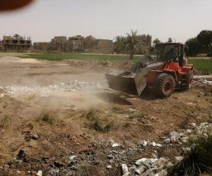 بكل حسم.. تفاصيل إزالة التعديات على أراضي الدولة ومنع البناء العشوائي (صور)