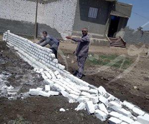 تنفيذا لتوجيهات الرئيس.. بني سويف تشن حملة لإزالة التعديات علي أراضي الدولة (صور)