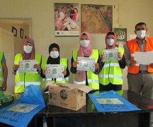 جمعية الجورة بشمال سيناء تنظم حملات لتوزيع أدوات صحية على 2000 أسرة