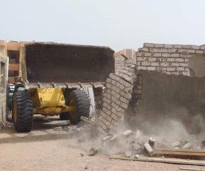 """""""دولة القانون"""".. تنفيذ إزالات البناء واسترداد أراض الدولة بجنوب سيناء (صور)"""