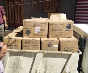 حماية المستهلك يضبط كميات كبيرة أدوية وعلامات تجارية مضروبة لشركات أدوية مصرية