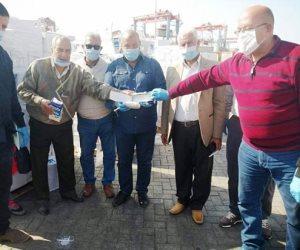 جمارك شرق بورسعيد تضبط 4 أطنان حشيش على باخرة قادمة من سوريا (صور)
