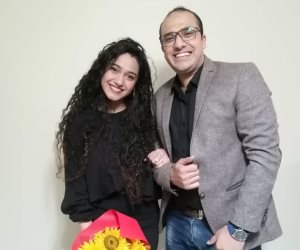 «صوت الأمة» تهنئ الزميل محمد الشرقاوي والآنسة هدير أشرف بمناسبة خطوبتهما (صورة)