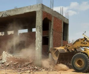 أجهزة المدن الجديدة تواصل جهودها لإزالة مخالفات البناء والتعدى على أملاك الدولة