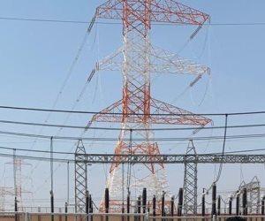 الكهرباء:الانتهاء من تأمين خط الربط الكهربي مع ليبيا والساحل الشمالي بتكلفة 364 مليون دولار