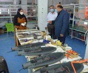 بالتزامن مع مجابهة كورونا.. تواصل العمل بالمشروعات التنموية والصناعية بجنوب سيناء (صور)