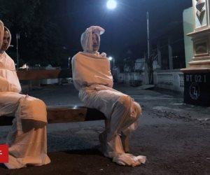 جثث متحركة في إندونيسيا والسبب: «كورونا» (صور)