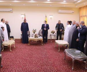 """برعاية محافظ شمال سيناء.. إنهاء خصومة استمرت 7سنوات بين عائلتي"""" القصلية"""" و""""الصبايحة"""" بالعريش"""