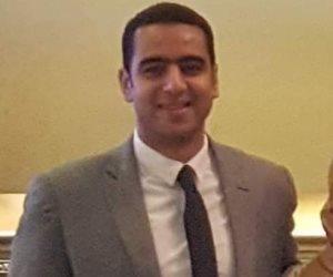 أبو البطل.. والد الشهيد محمد الحوفي ينعى فلذة كبده في أول ظهور له على «فيسبوك» (صور)