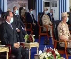 السيسي: الأمن القومى لا يقدر بمال.. وأنفقنا 600 مليار جنيه لتنمية سيناء