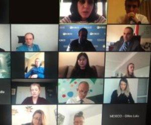 وزارة التخطيط تشارك بالاجتماع السنوى للجنة الحوكمة فى باريس عبر الفيديو كونفرنس