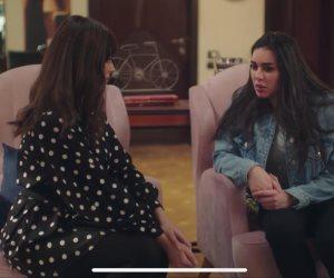 فرصة تانية الحلقة 3.. ياسمين صبرى تعود إلى عملها وتصدم شخص بسيارتها