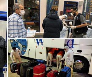وصول 234 عالقًا بالخارج لمطار مرسى علم قادمين من العاصمة الماليزية كوالالمبور