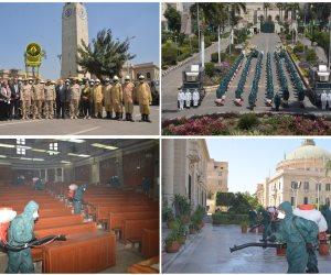 القوات المسلحة تواصل توزيع الكمامات على المواطنين مجانا لمكافحة كورونا