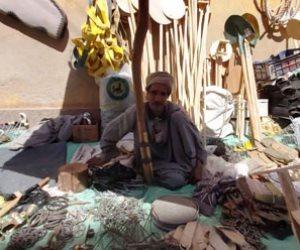 «الحمام الجبلي» ينعش تجارة «فخاخ الصيد» في الأسواق الشعبية بقنا