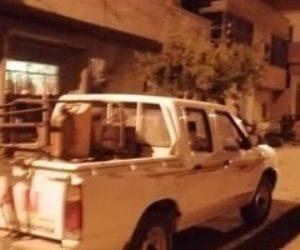 مسح شامل وتكثيف أمني.. ماذا يحدث في قرية «نهطاي» بالغربية بعد عزلها