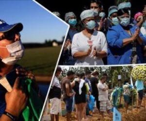 جولة حول العالم هذا الصباح| في البرازيل: جنازة جماعية لضحايا كورونا وصلوات لرفع الوباء