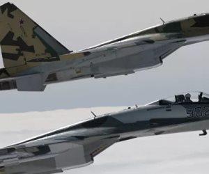 """غيرت قواعد """"الاستطلاع"""".. """"سوخوي 35"""" تتفوق على طائرة أمريكية فوق سوريا"""