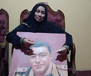 والدة الشهيد مغربي دبابة تحكي تفاصيل المكالمة الأخيرة مع فقيدها