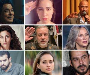 مظاهرة وطنية من الفنانين لشهداء سيناء: تعظيم سلام للأبطال